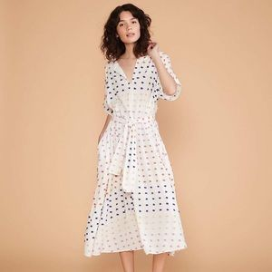 Lou & Grey Dot Candy Midi dress